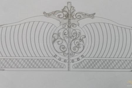Brány a ploty - Zdobené
